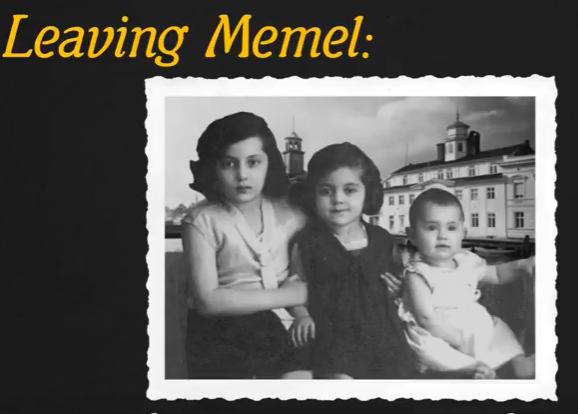 Leaving Memel: