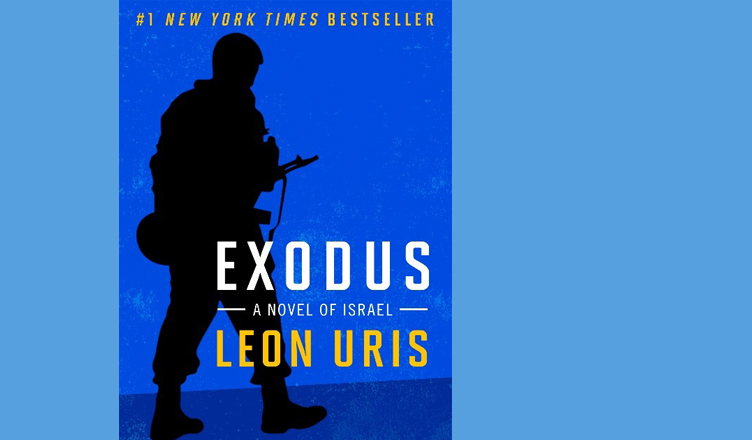 Cover of Exodus by Leon Uris