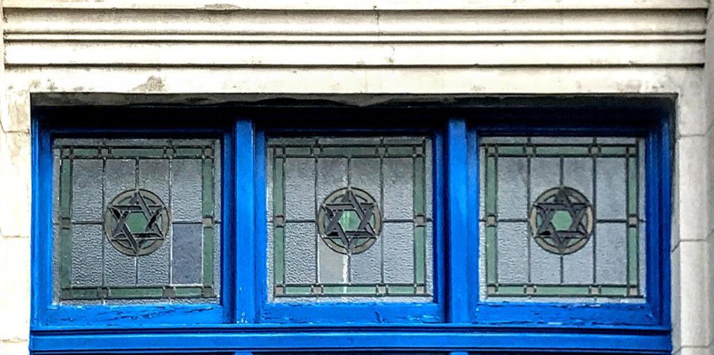 Greenville Hall Windows