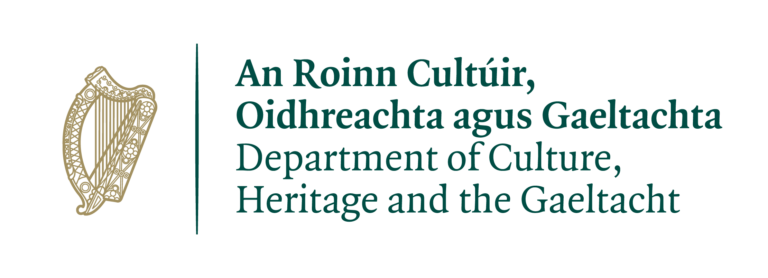 Department of Culture, Heritage & the Gaeltacht logo