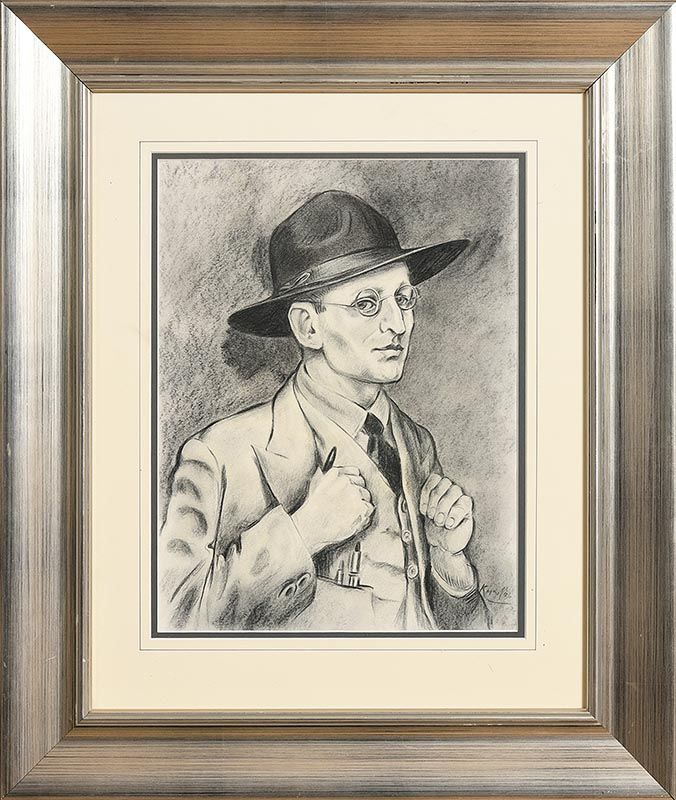Harry Kernoff Self Portrait