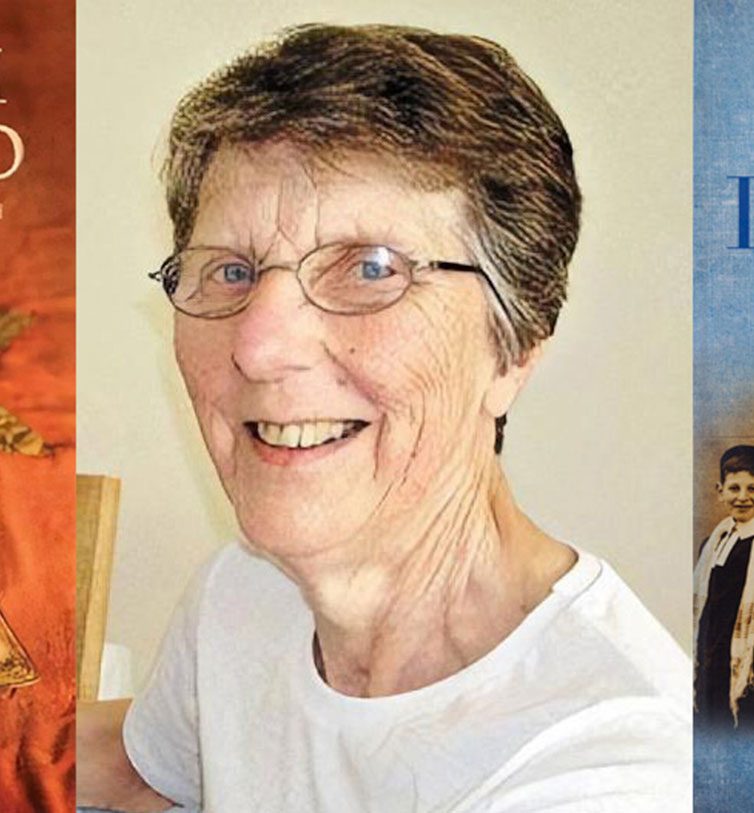 Ray Rivlin and some of her books