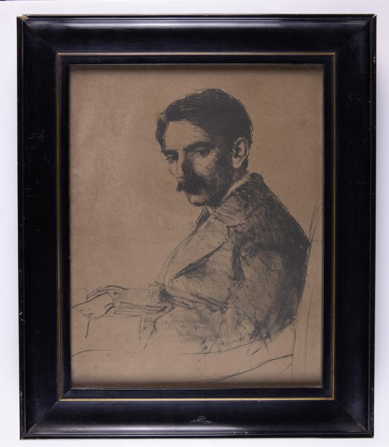 Seamus O'Sullivan Portrait by Estella Solomons