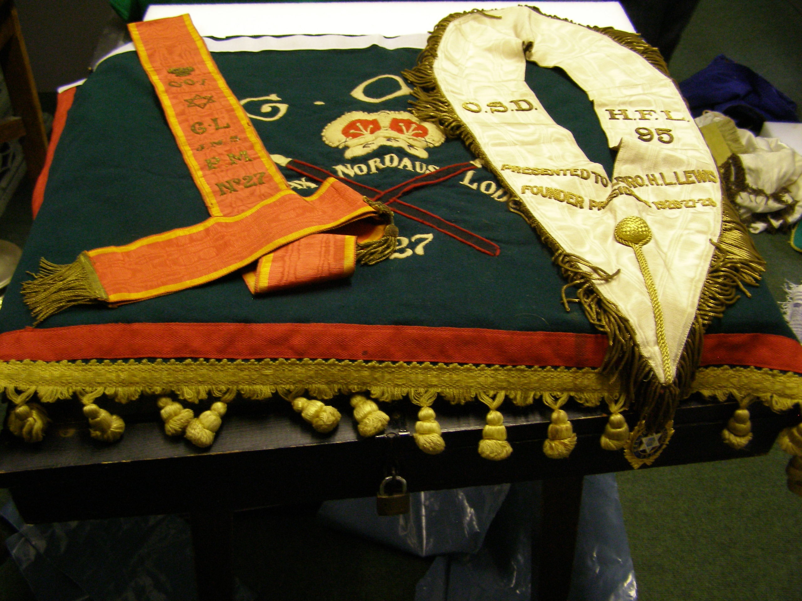 Textiles for conservation