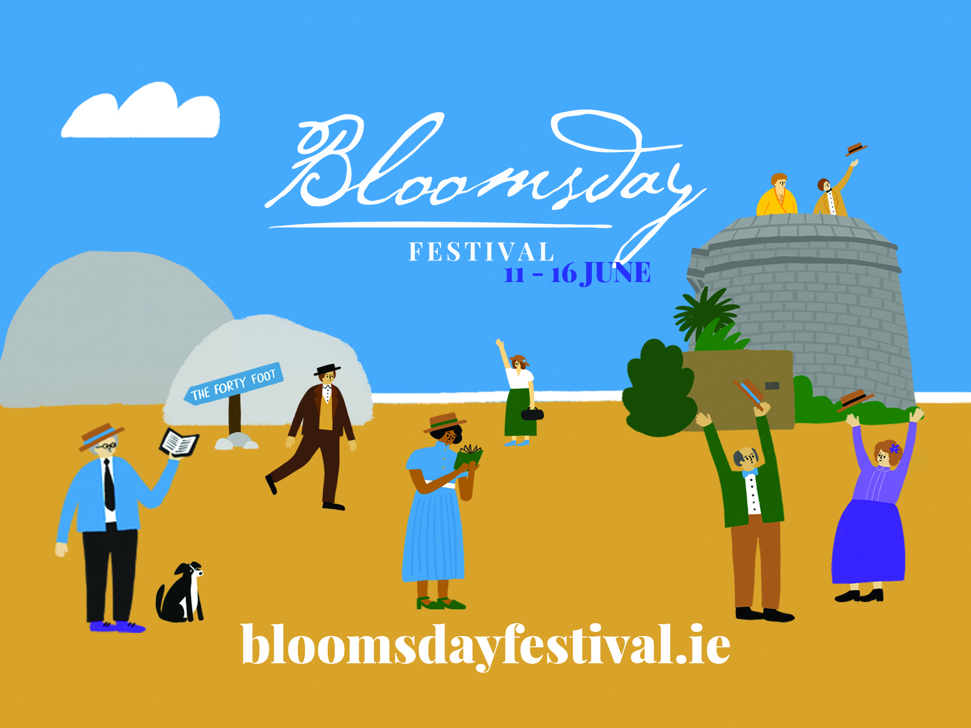 Bloomsday Festival Graphic 2021